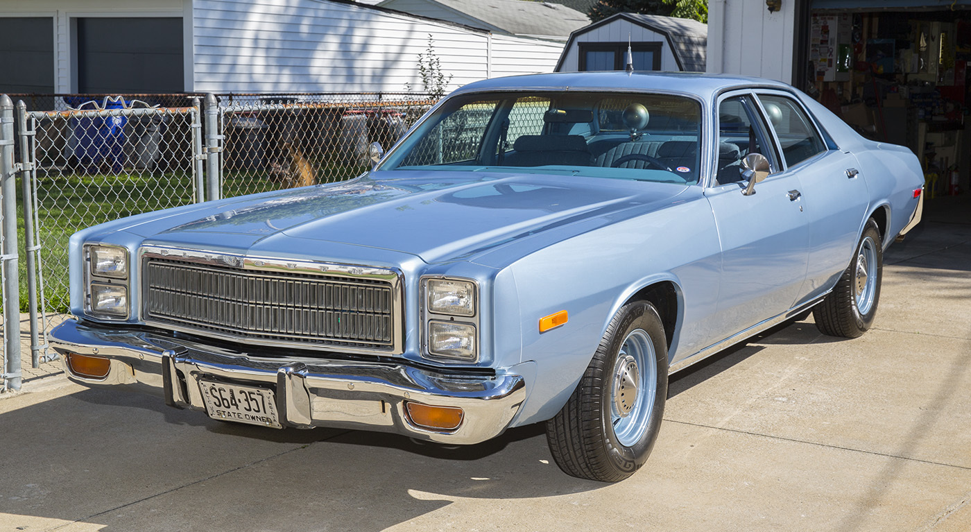 1978 PLYMOUTH FURY POLICE