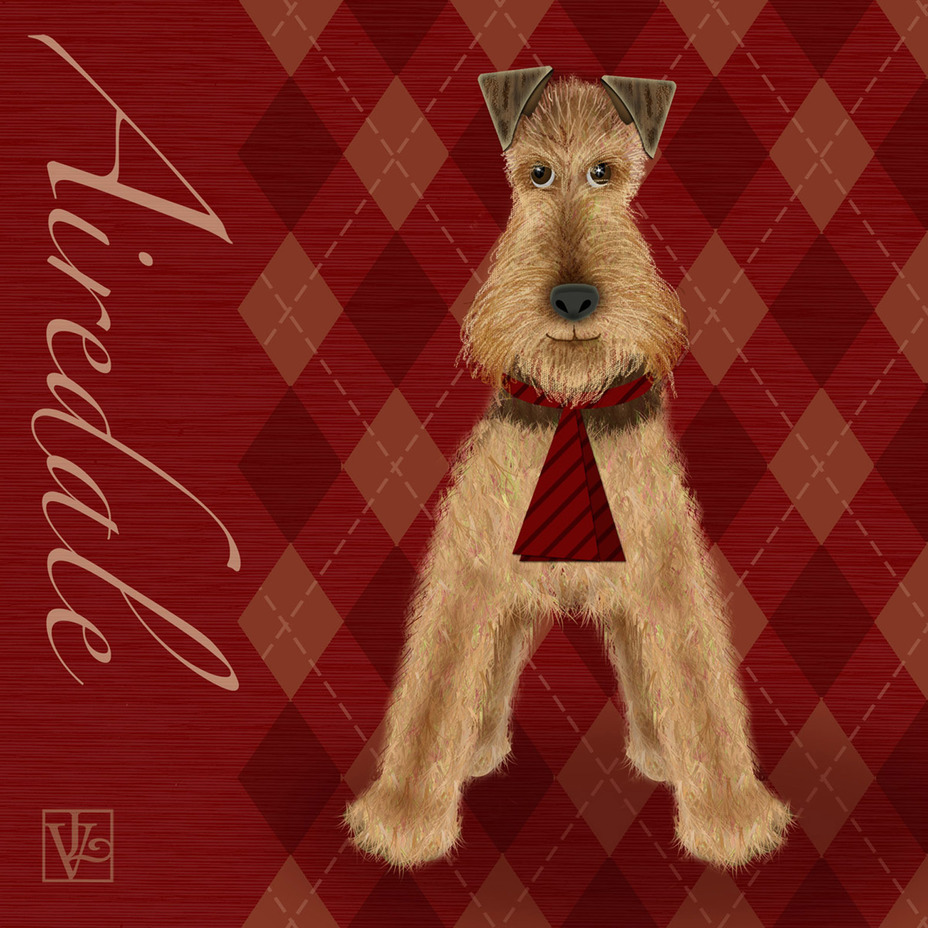 A is for Airedale