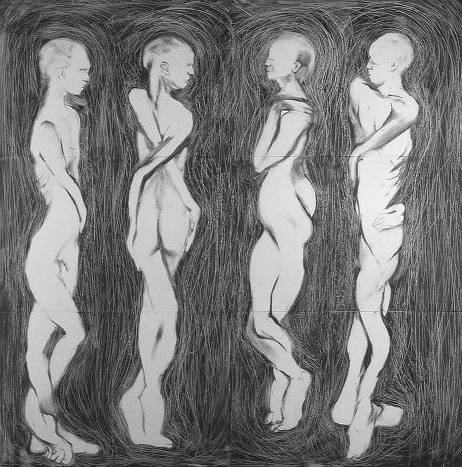 Four Twisted Figures