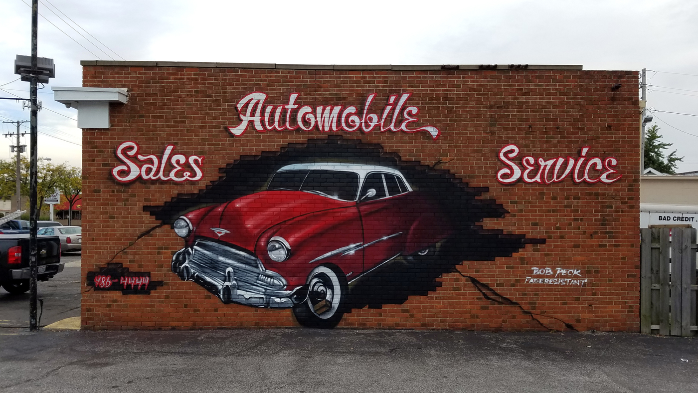 North Coast Auto mural