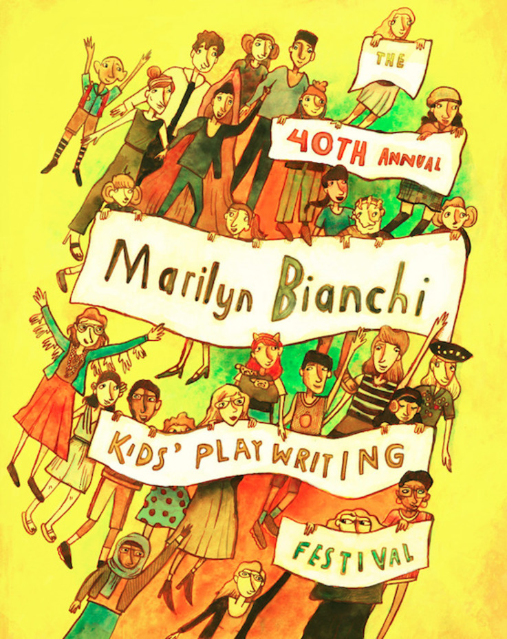 Marilyn Bianchi Kids' Playwriting Poster 2018